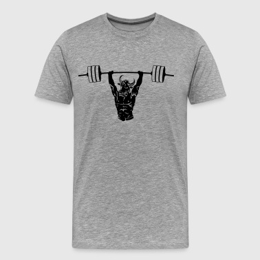 Minotaur Weightlifting - Men's Premium T-Shirt