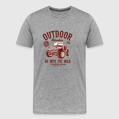 Outdoor Adventure 1988 Go Into The Wild T-shirt - Men's Premium T-Shirt