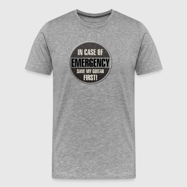 save my guitar - Men's Premium T-Shirt