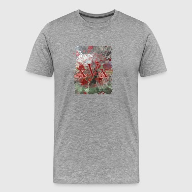 Velocity xVx RED Splash - Men's Premium T-Shirt