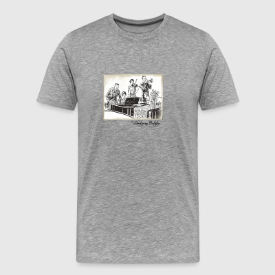 The Band Plays On - Men's Premium T-Shirt