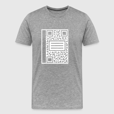 QR Composition - Men's Premium T-Shirt