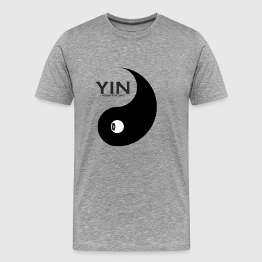 Yin as a couples design looks for Yang for couples - Men's Premium T-Shirt