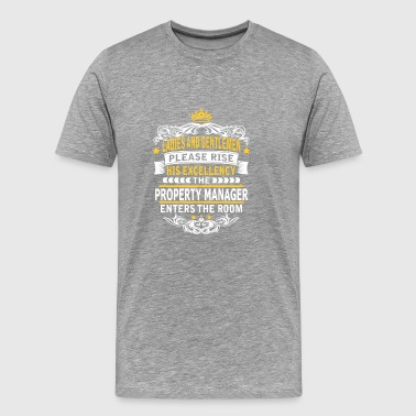 PROPERTY MANAGER - Men's Premium T-Shirt