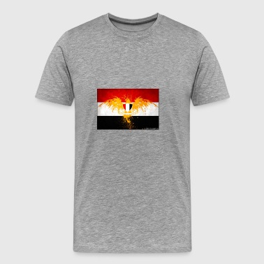 alternate egypt flag by al zoro d57z04m - Men's Premium T-Shirt