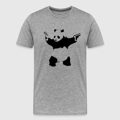 hardcore panda - Men's Premium T-Shirt