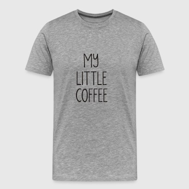 my little coffee - Men's Premium T-Shirt