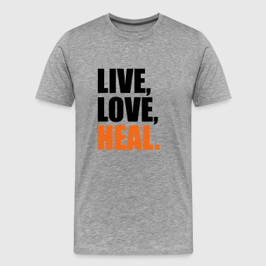 2541614 14405851 heal - Men's Premium T-Shirt