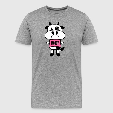 Moody Cow - Men's Premium T-Shirt
