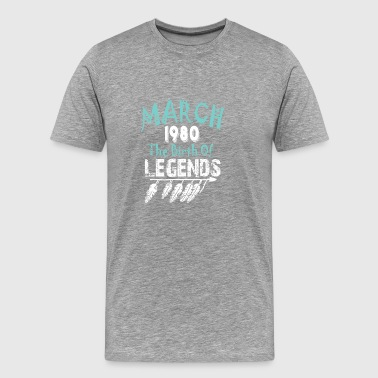 March 1980 The Birth Of Legends - Men's Premium T-Shirt