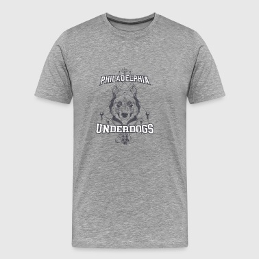 Philadelphia Underdogs tshirt - Men's Premium T-Shirt