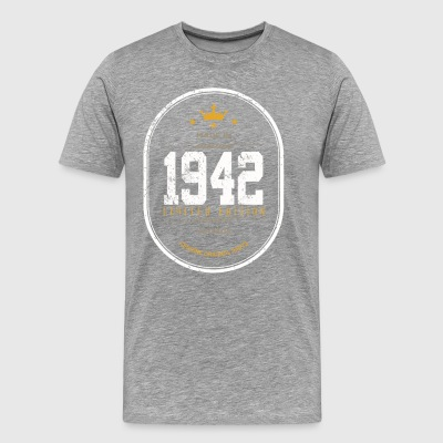 Made In 1942 Limited Edition Vintage - Men's Premium T-Shirt