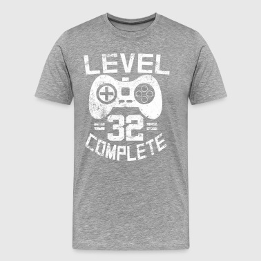 Level 32 Complete - Men's Premium T-Shirt