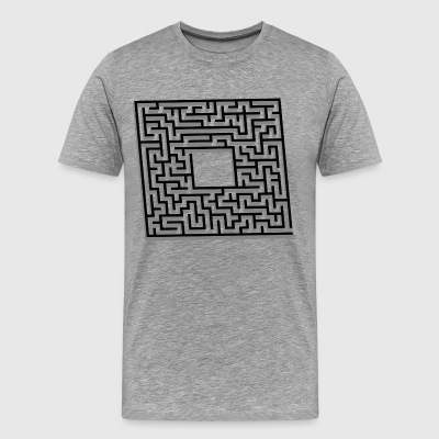 labyrinth - Men's Premium T-Shirt
