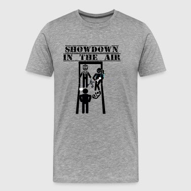 Showdown In The Air - American Fiasco - Men's Premium T-Shirt