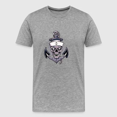 Anchor Skull - Men's Premium T-Shirt