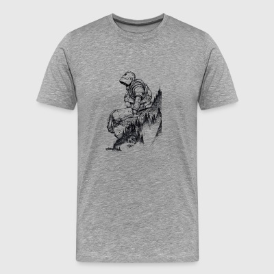 Iron Giant - Men's Premium T-Shirt