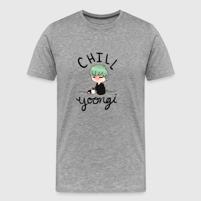 Chill Min Yoongi - Men's Premium T-Shirt