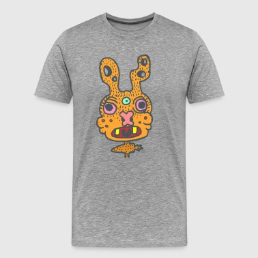 Rabbit last second of life - Men's Premium T-Shirt