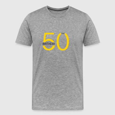 50th - Men's Premium T-Shirt