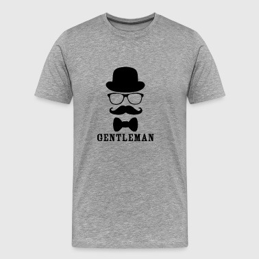 gentleman blak - Men's Premium T-Shirt