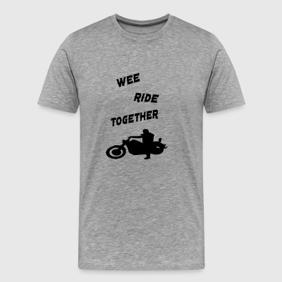 wee ride together - Men's Premium T-Shirt