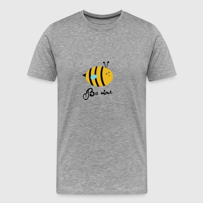 bee mine - Men's Premium T-Shirt