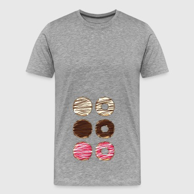 Donut 6 pack - Men's Premium T-Shirt