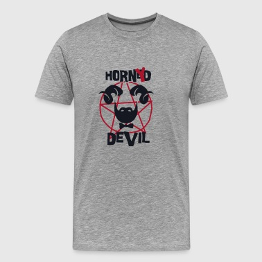 horny devil - Men's Premium T-Shirt