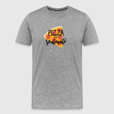 PIZZA SOULMATE - Men's Premium T-Shirt