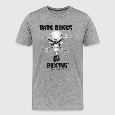 Bare Bones Boxing Logo - Men's Premium T-Shirt
