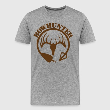 Bow Hunter | Deer Hunter - Men's Premium T-Shirt