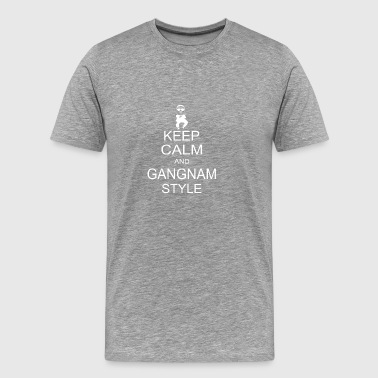 Keep Calm And Gangnam Style 2 - Men's Premium T-Shirt