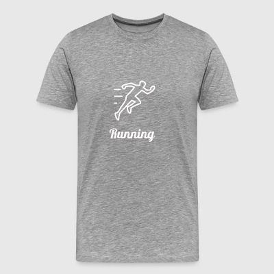 RUNNING - Men's Premium T-Shirt