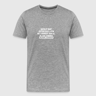 Hate By Many - Men's Premium T-Shirt