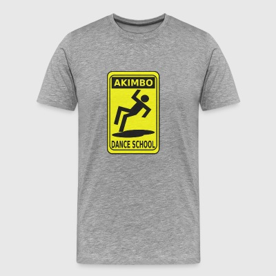 Akimbo Dance School - Men's Premium T-Shirt