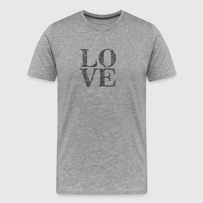 love humans people person - Men's Premium T-Shirt