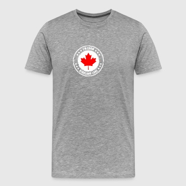 I'm from KIRKLAND LAKE - Men's Premium T-Shirt