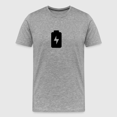 charge battery1600 - Men's Premium T-Shirt