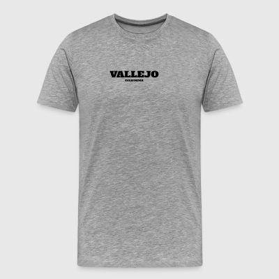 CALIFORNIA VALLEJO US EDITION - Men's Premium T-Shirt