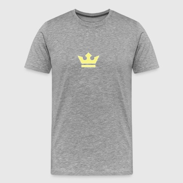 king crown logo - Men's Premium T-Shirt