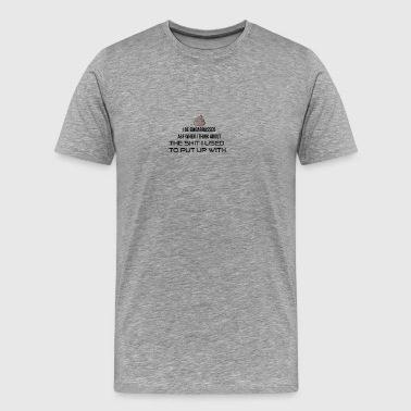 I be embarrassed as fuck - Men's Premium T-Shirt