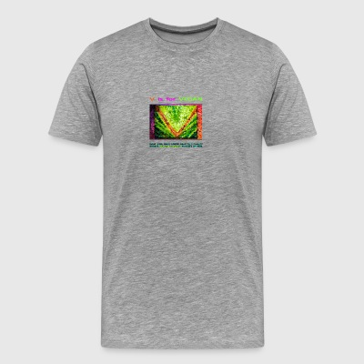 V IS FOR VEGAN. evolve. - Men's Premium T-Shirt