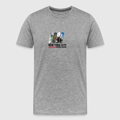 New York City, USA - Men's Premium T-Shirt