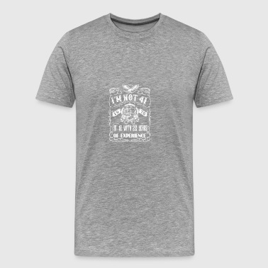 I'm not 41 1976 I'm 18 with 23 years of experience - Men's Premium T-Shirt