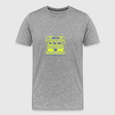 Pay No Attention To The Kids Behind The Curtain Em - Men's Premium T-Shirt