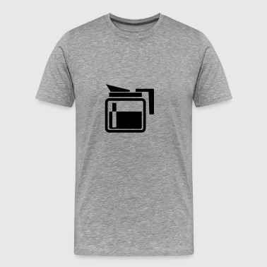 coffee pot - tea pot - Men's Premium T-Shirt