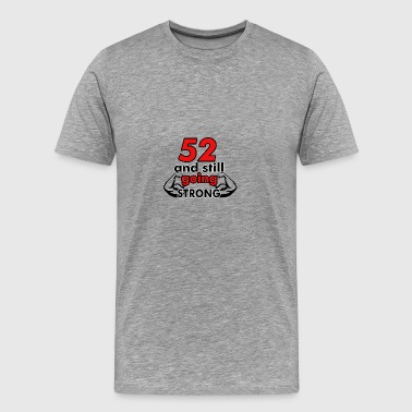 52 birthday design - Men's Premium T-Shirt