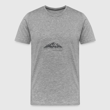 The_Mountains_are_Calling - Men's Premium T-Shirt