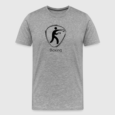Boxing_black - Men's Premium T-Shirt